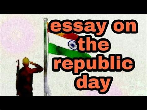 Short Speech On The Republic Day Essay - 941 Words